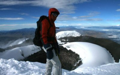 summit of cotopaxi