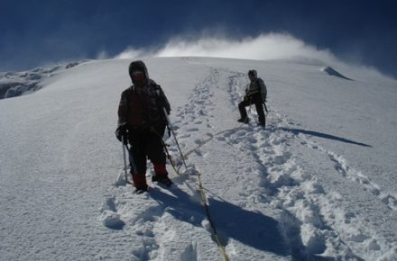 Chimborazo near summit