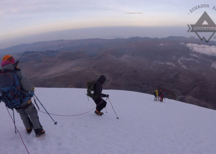 photo of chimborazo climb